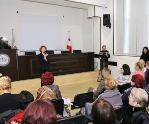 თამარ ტალიაშვილის ინიციატივით, ქალთა სოლიდარობის თემაზე შეხვედრა გაიმართა